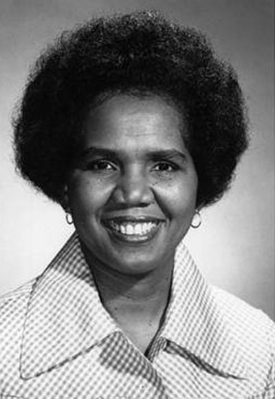 Rosemary Brown in her earlier days.