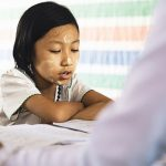 Parents can assure children that anxiety is a natural feeling they can learn to manage. Photo credit: Peter Hershey.