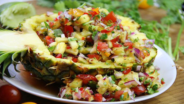Fresh Pineapple Salsa Recipe
