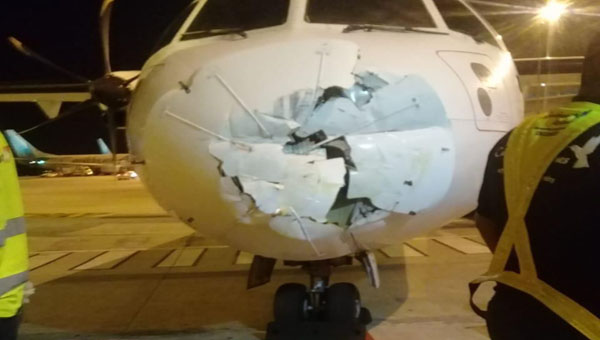 Investigation Launched Into Why Caribbean Airlines Plane Hit Wall At Piarco Airport