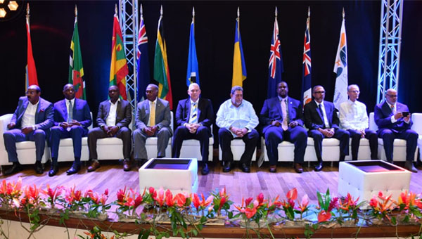 Organisation Of Eastern Caribbean States Leaders End Summit Critical Of Europe