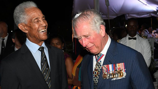 "Prince Charles Describes Barbados As ""A Remarkable Island"""
