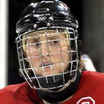 Hayley Wickenheiser captained the Canadian women's hockey team to a gold medal at the 2010 Winter Olympics. She is part of Canada's working group on Gender Equity in Sport and is now the first woman in the National Hockey League (NHL) to hold an operations role, as assistant director of player development for the Toronto Maple Leafs. Photo by Hayley_Wickenheiser_at_2010_Olympics.jpg: VancityAllie.comderivative work: Tabercil (talk) - Hayley_Wickenheiser_at_2010_Olympics.jpg, CC BY 2.0, https://commons.wikimedia.org/w/index.php?curid=9554449.