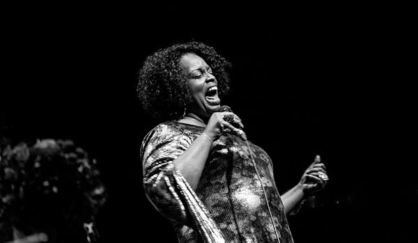 Dianne Reeves, seen performing at an auditorium in Lyon, France, will be a star attraction at this year's St. Lucia Jazz Festival. Photo by Renaud.alouche - Own work, CC BY-SA 4.0, https://commons.wikimedia.org/w/index.php?curid=63977176.