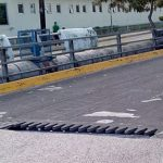 A compromised expansion joint on the bridge, at the eastern end of Howard Cooke Boulevard, in Montego Bay, St. James, which is to be repaired by the National Works Agency (NWA). Photo credit: contributed.