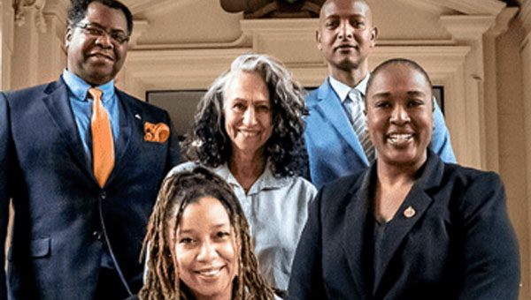 The NDP Black Caucus members are (from left to right): Brampton North MPP, Kevin Yarde; Kitchener Centre MPP, Dr. Laura Mae Lindo, the Chair; Beaches-East York MPP, Dr. Rima Berns-McGown; York South-Weston MPP, Faisal Hassan; and Toronto-St. Paul's MPP, Dr. Jill Andrew.