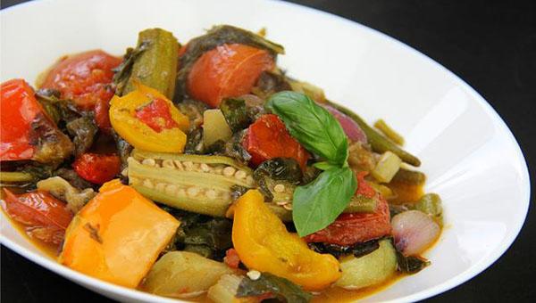 Caribbean Ratatouille (ital vegetable stew)