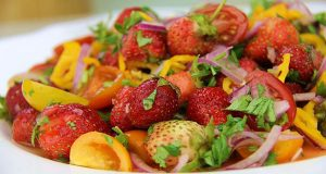 Strawberry Chow (Spicy-pickle salad) Recipe