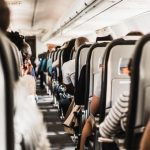Our research showed that in-flight magazines offered travellers health advice on everything from dehydration to swollen ankles, but hardly anything on avoiding catching and spreading infectious diseases. Photo credit: Steven Thompson/Unsplash.