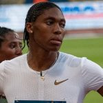 Eight hundred meter Olympic gold medallist, Caster Semenya, seen at the Meeting de Paris in France in June 30, last year. Photo by Yann Caradec from Paris, France - Meeting de Paris, Stade Charlety - 30 juin 2018, CC BY-SA 2.0, https://commons.wikimedia.org/w/index.php?curid=70574435