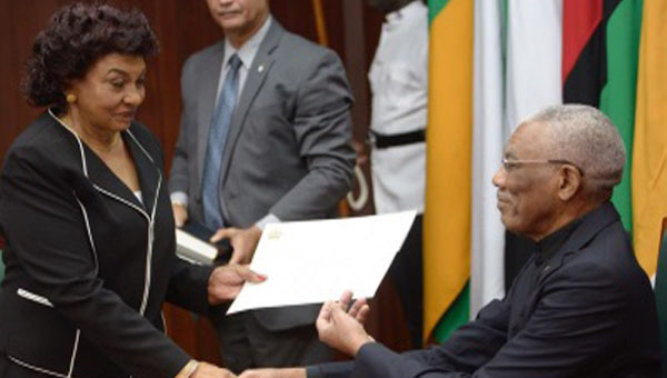 New Guyana Elections Commission Head Sworn-in To Office