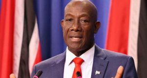 Trinidad And Tobago Prime Minister On Visit To The United States