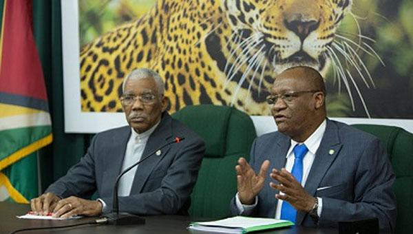 Guyana's President And Opposition Leader Hold Talks On New GECOM Chairman