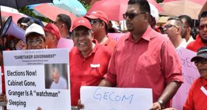 Guyana's Main Opposition Stage Protest Against Rumoured House-To-House Registration