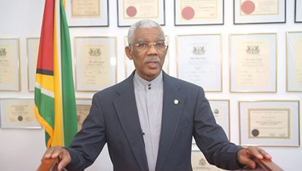 Guyana's President David Granger Insists Elections Must Be Credible