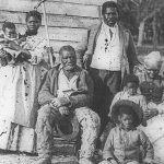 Five generations on Smith's Plantation Beaufort at South Carolina in 1862. Photo credit: Timothy H. O'Sullivan/Library of Congress.