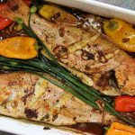 Ginger Chive Roasted Snapper