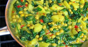 Vegan Classic: Curry Chickpeas With Potato And Spinach