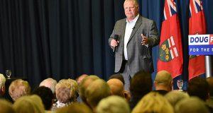 "Ontario Premier, Doug Ford, Continuing To Turn His Back On ""The People"", Despite New Faces"
