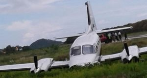 Plane Crashes On Landing In Grenada