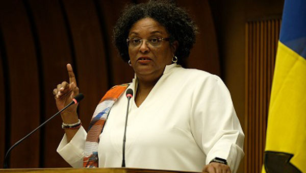 """Climate Change Will Be Defeated. Humanity Has No Choice,"" Says Barbados PM, Mia Mottley In Geneva"