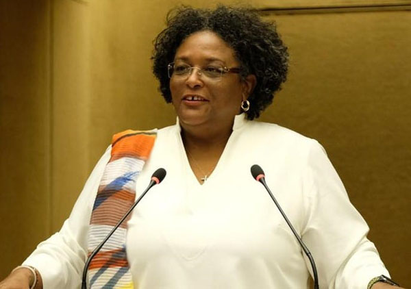 Barbados Prime Minister, Mia Mottley, said that the problems the world faces today, can only be defeated multilaterally. Photo credit: GP.