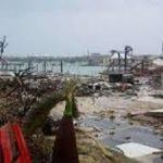 Hurricane Dorian damage on Abacos Island.