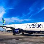 Jet Blue Airplane