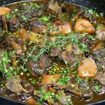 Fork-Tender, Herb And Wine Braised Oxtails