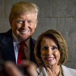 US Speaker of the House, Nancy Pelosi -- seen with President-elect Donald Trump on January 20, 2017 -- has been pressed hard, to pursue impeachment by her younger more radical colleagues, as well as their activist supporters, and many of the party's presidential hopefuls. Photo credit: Department of Defence photo by U.S. Air Force Staff Sgt. Marianique Santos - Public Domain.