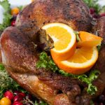 Thanksgiving Turkey With Sweet Apple Stuffing