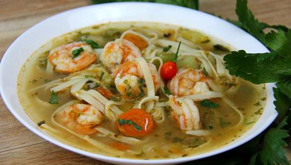 Classic Shrimp Broth (Soup) Recipe
