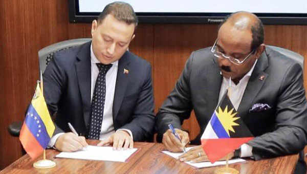 Antigua And Barbuda Joins ALBA Bank