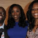 Council Member, Farah Louis (center), flanked by Haitian American New York Assemblywoman, Rodneyse Bichotte, and Haitian-American Samuel Pierre.