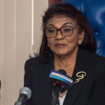Chair of the Guyana Elections Commission (GECOM), retired Justice Claudette Singh.