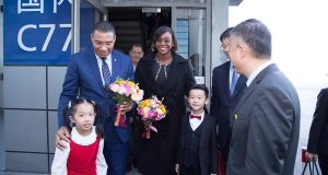 Jamaican Prime Minister On Official Working Visit To China