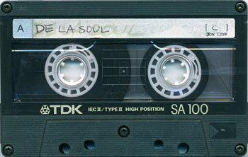 If your 90s dubbed De La Soul tape has broken down, a new cassette today may cost $130. Photo credit: Mike B in Colorado/Flickr.