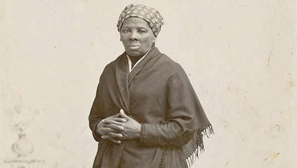 Harriet Tubman. Photo by Photographer: Horatio Seymour Squyer, 1848 to 18 Dec 1905 -- National Portrait Gallery, Public Domain.