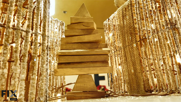 How To Make A Do-It-Yourself Scrap Wood Christmas Tree