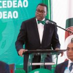Akinwumi Adesina, President of the African Development Bank, seen speaking at the opening ceremony of the fifty-sixth ordinary session of the Authority of Heads of State and Government of ECOWAS, held late last month, in Abuja, Nigeria.