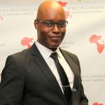 TIFF Co-Head and Artistic Director, Cameron Bailey, seen in 2014, when he was honoured by the African Canadian Achievement Awards (ACAA) for Excellence in the Arts and Entertainment. Photo courtesy of the ACAA.