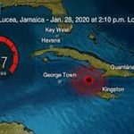 Tsunami Warning Issued For Jamaica And Cayman Islands