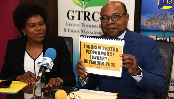 Jamaica's Tourism Industry Earnings In 2019 Surpassed That Of Previous Year