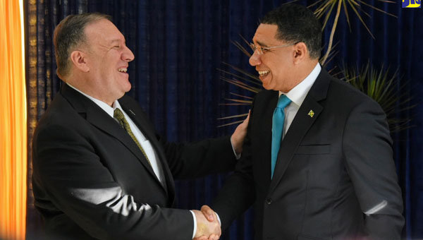 United States And Jamaica To Strengthen Cooperation On Security Matters