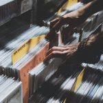 Vinyl record sales have been surging in the last few years, driven by a wide-age range of consumers. Photo credit: Florencia Viadana/Unsplash, CC BY-SA.