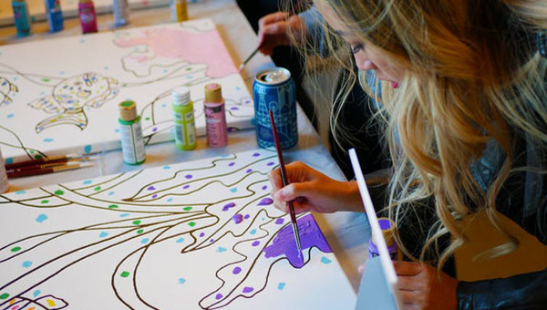 Visual Arts Can Help Marginalized Youth Learn Mindfulness And Self-Compassion