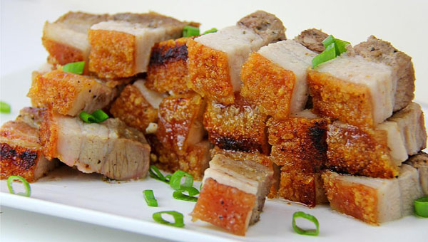 Crispy, Chinese-Style Pork Belly