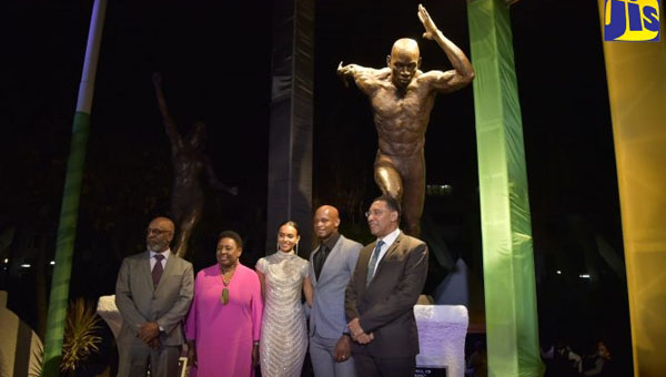 Jamaica Government Commemorates Veteran World-Class Sprinter, Asafa Powell, With Statue