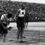 John (Army) Howard was Canada's first Black Olympian and competed at the 1912 Olympics in Stockholm. Photo credit: Canadian Olympic Committee, CC BY-NC.