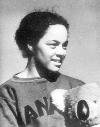 Barbara Howard became the first Black female athlete to compete internationally for Canada when she competed in the 1938 Empire Games. Photo credit: City of Vancouver Archives.